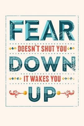 الخوف لا يغلقك