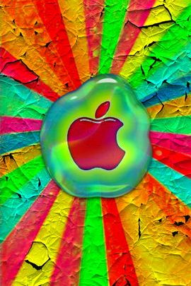 Apple In Hot Wax