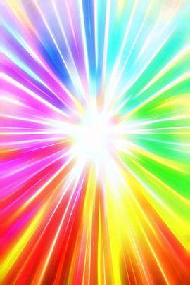 Rainbow Burst Gradient 02