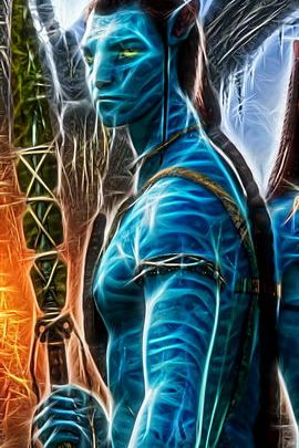 Fractal Avatar Jake Sully