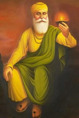 Бумажная лампа Guru Nanak