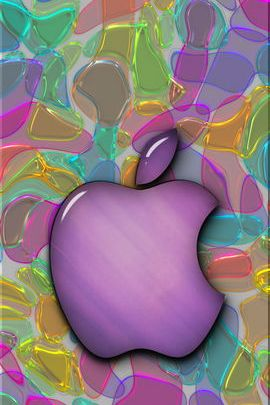 Melted Glass Apple 02