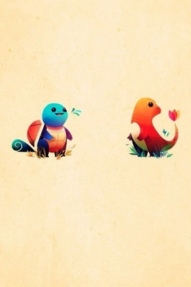 Squirtle And Charmander