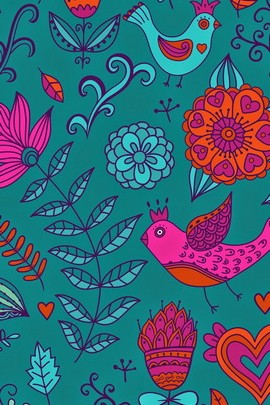 Colorful Birdies