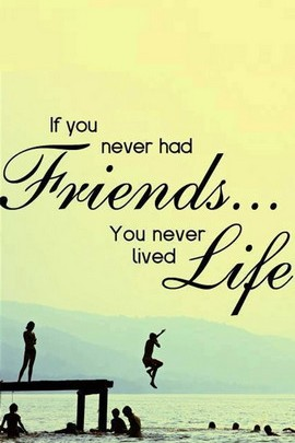 Friends. :)