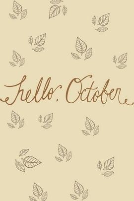Bonjour octobre