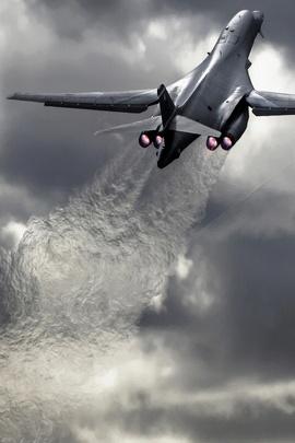 طائرة حريق