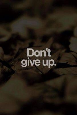 N'abandonnez pas