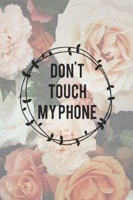 Rose Don't Touch My Phone