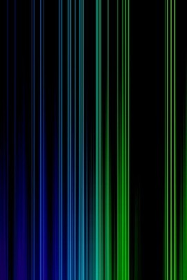 Blue And Green vertical Lines