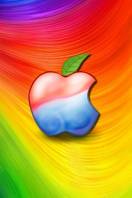 Apple In The Rainbow