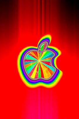 Red Rainbow Glow