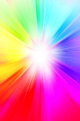 Rainbow Burst Gradient 01