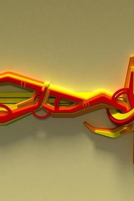 Amazing 3D Graffiti