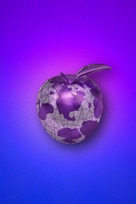 Purple Globe Apple