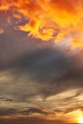 Beautiful Orange Skies