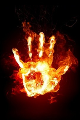 Hand With Fire