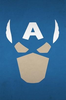 Minimailist Captain America