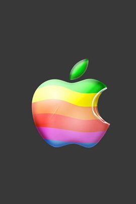 Old Apple Logo 01
