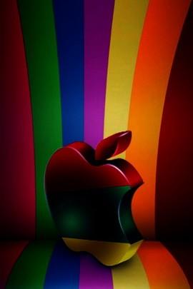 Apple sur une chaise