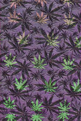 Embossed Weeds