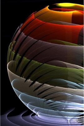 Half Colourful Circle