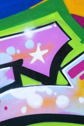 Awesome Colorful Graffiti