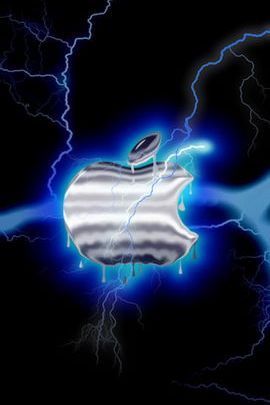 Apple Blue Lightning