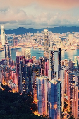 Hong Kong Forest Hills view