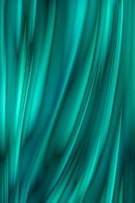Turquoise Curtain