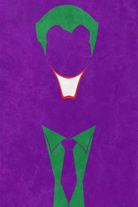 Joker Minimal Grunge