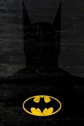 Batman Minimal Grunge