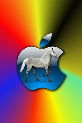 Apple And Horse 1