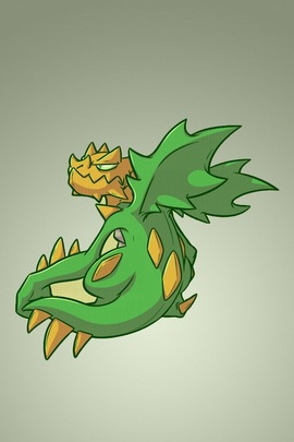 Shiny Druddigon