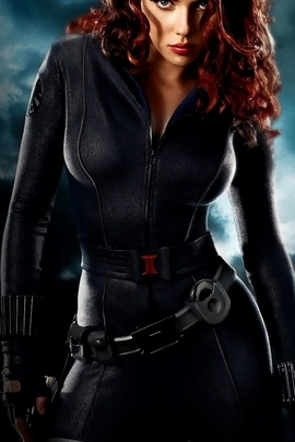 Black Widow Is Scarlett Johanson