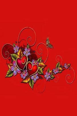 심장 과 나비