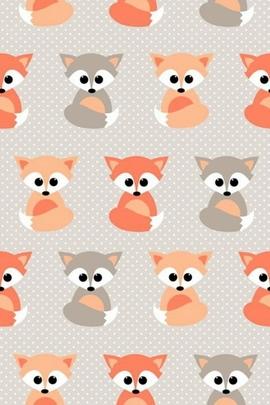 Baby Fox Pattern