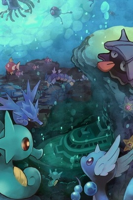 Water Type Pokemon Wallpaper Download To Your Mobile From