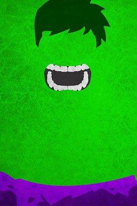 Hulk Minimal Grunge