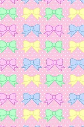 Multi Colour Bow 2