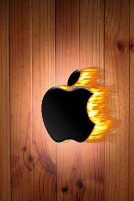 Ogień sosnowy firmy Apple