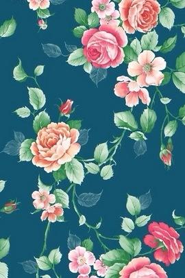 Retro floreale