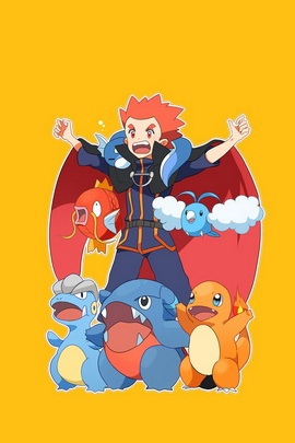 Pokemon Trainer Lance