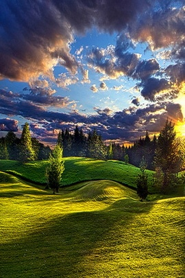 Romantyczny Krajobraz