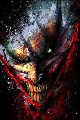 Scary Bloody Joker