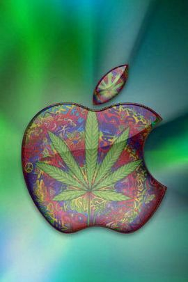 Hippie Marijuana Apple