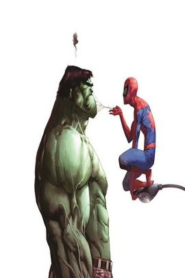 Hulk And Spider Man