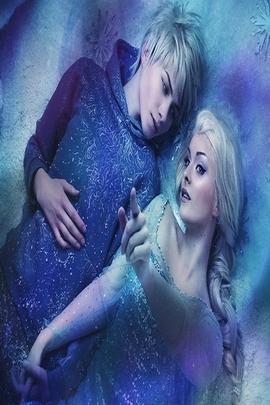 Queen Elsal And Jack Frost