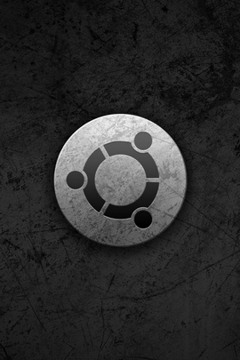 Ubuntu Gray Black Circle Logo Symbol 33031 720x1280