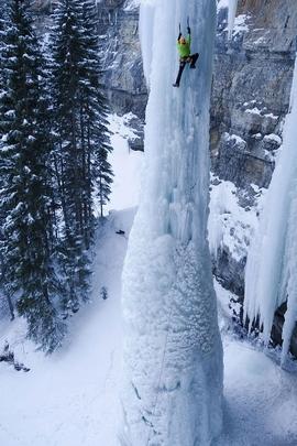 تسلق الجليد المتطرفة